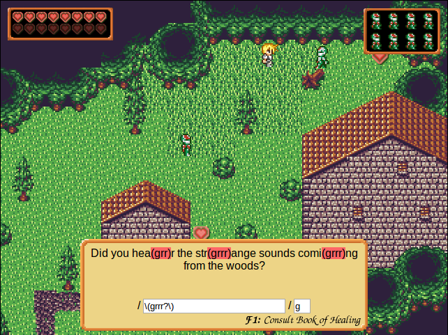 RegexQuest Screenshot
