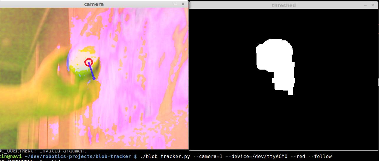 OpenCV Blob Tracker | Jessica Austin